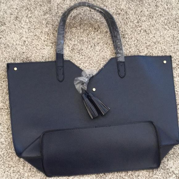 Neiman Marcus Handbags - neiman marcus tassel tote
